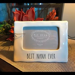 "Rae Dunn ""Best Nana Ever"" Picture Frame"